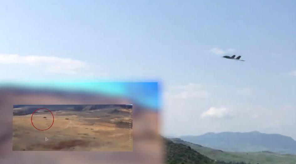 Photo of Один из армянских ударных БПЛА в действии