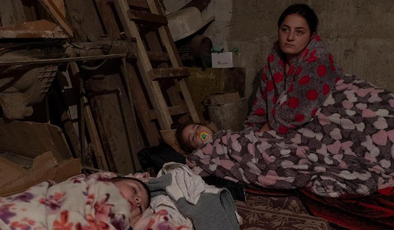 Photo of Ночь в убежище. Правительство РА опубликовало фотографии