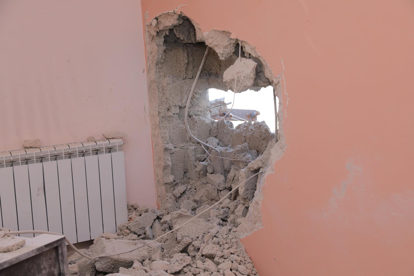 Photo of Подверженный артобстрелу Степанакерт на фотографиях