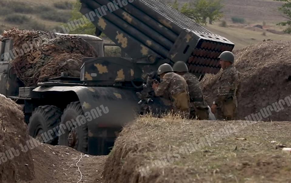Photo of ՊԲ հրետանավորները. կադրեր առաջնագծից
