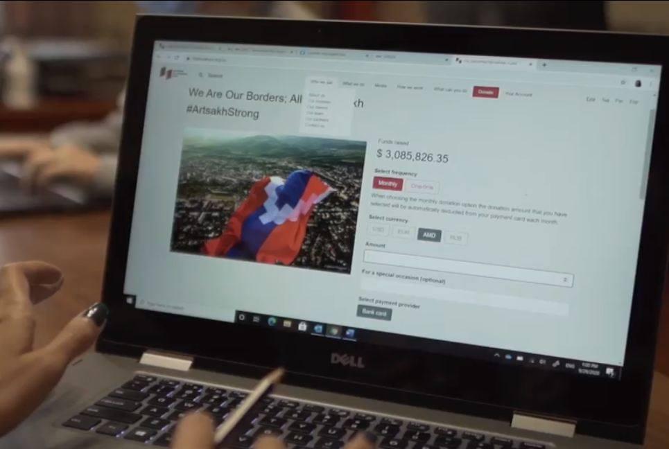 Photo of «Մենք ենք, մեր սահմանները. բոլորս Արցախի համար» դրամահավաքի շրջանակում այս պահին հավաքվել է ավելի քան 3 մլն  դոլար