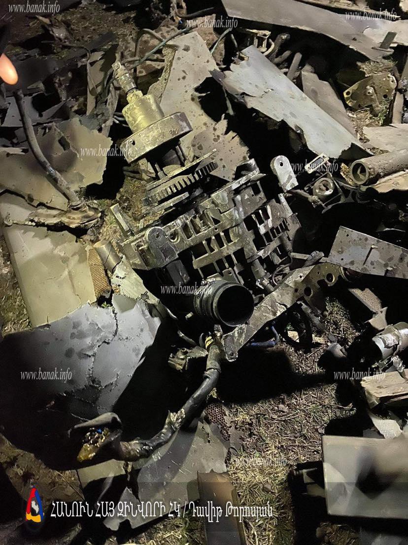 Photo of Օդային սահմանը խախտել են Harop տեսակի 3 ԱԹՍ, որոնցից 2-ը հայկական ուժերի ՀՕՊ ստորաբաժանումները ոչնչացրել են