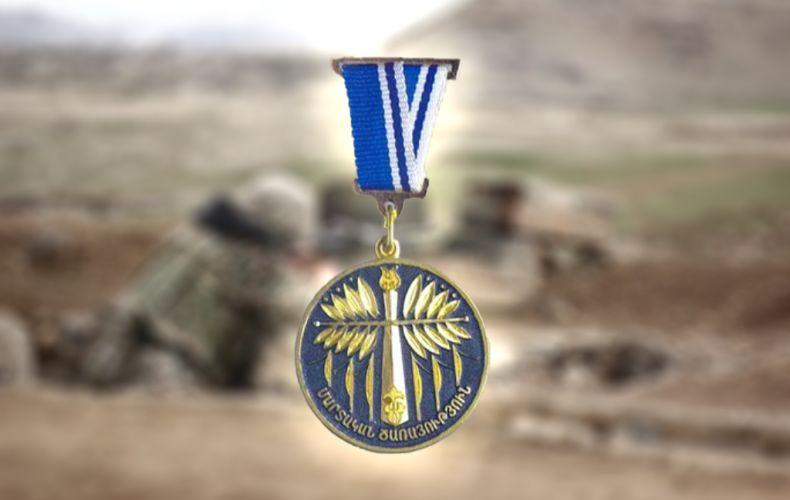 Photo of 46 военнослужащих Армии обороны посмертно награждены медалью «Боевая служба»