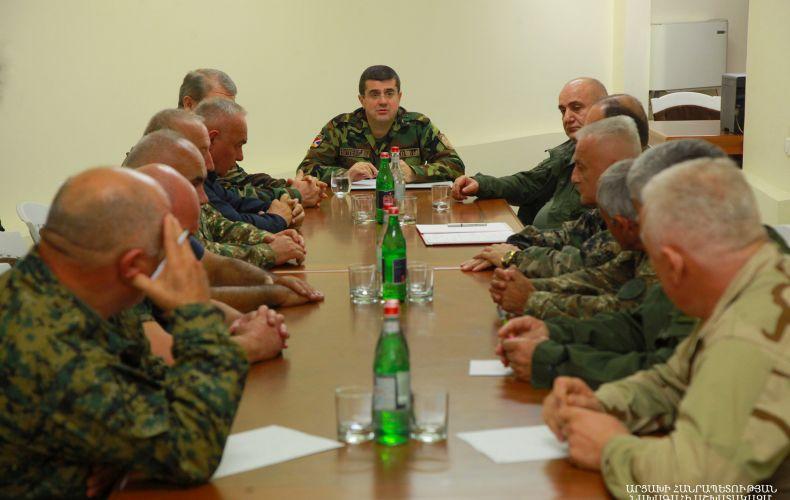 Photo of Հպարտ եմ, որ մեր ազգի հերոսները համախմբված ու միասնական կերպով իրենց վճռական խոսքը կրկին պիտի ասեն. Նախագահ Հարությունյան