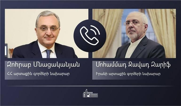 Photo of Главы МИД Армении и Ирана обсудили вопросы безопасности