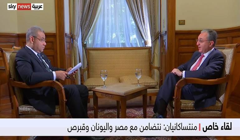 Photo of ԱԳ նախարար Զոհրաբ Մնացականյանի հարցազրույցը «Sky News Arabic» հեռուստաընկերությանը