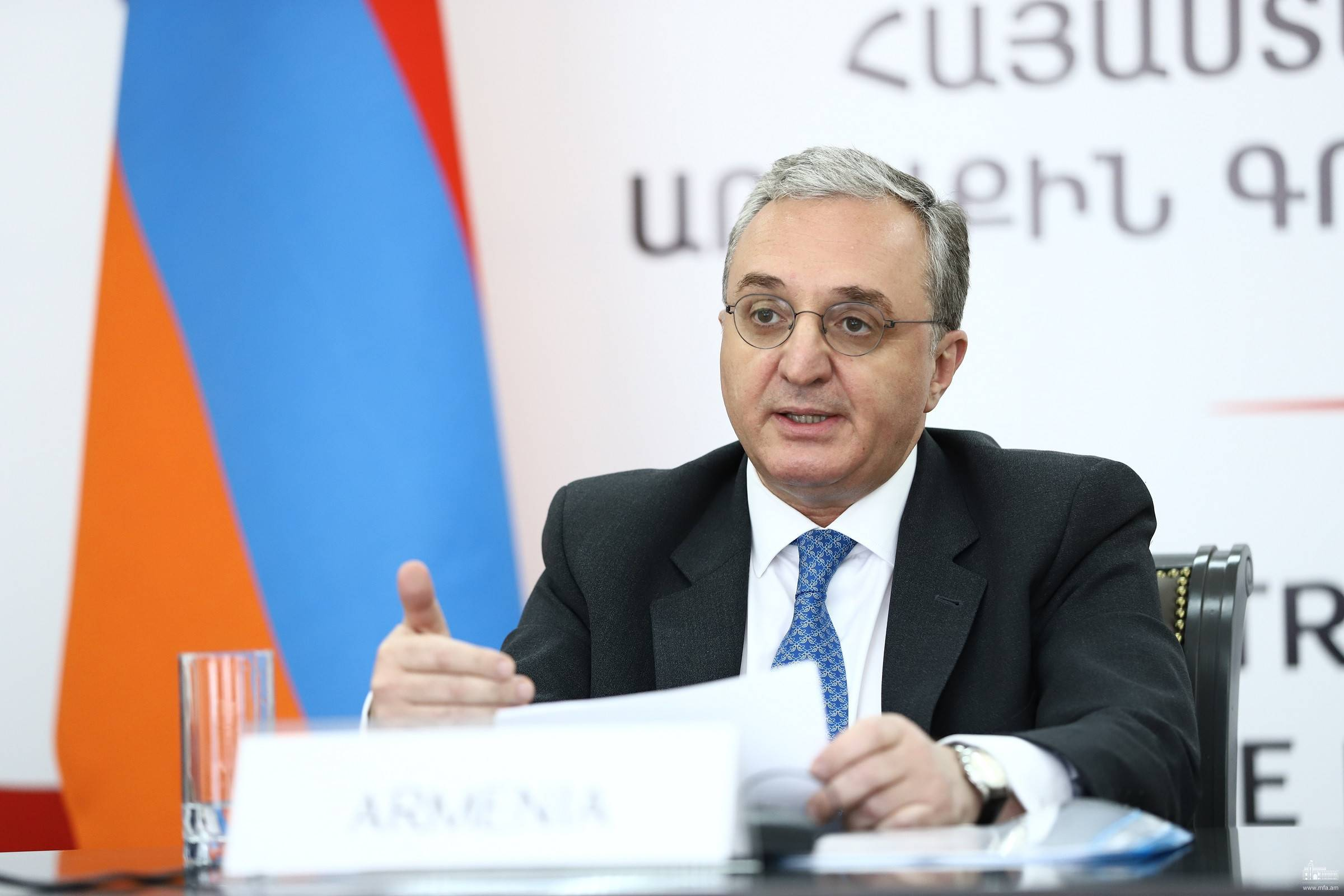 Photo of ՀՀ ԱԳ նախարար Զոհրաբ Մնացականյանի ելույթը նախարարական հանդիպմանը