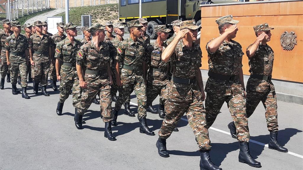 Photo of Подразделение ВС Армении отбыло в РФ для участия в учениях «Кавказ-2020»
