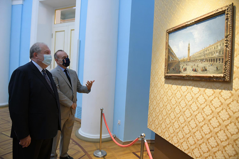 Photo of Уникальная выставка: шедевры итальянской живописи XVIII века выставлены в Ереване