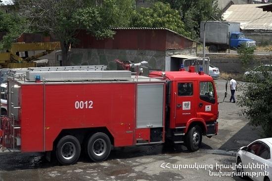 Photo of Крупный пожар на коньячном заводе в Армении унес две жизни