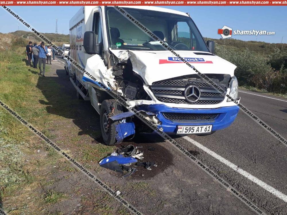Photo of Ավտովթար Գեղարքունիքի մարզում. բախվել են 3 ավտոմեքենա. կա վիրավոր