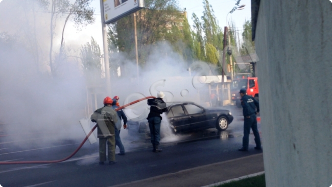 Photo of Այրվել է ավտոմեքենայի բեռնախցիկը
