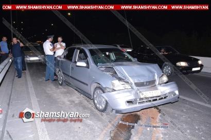 Photo of Խոշոր ավտովթար Երևանում․ բախվել են 4 Opel-ներ․ կա վիրավոր