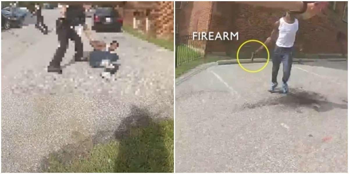 Photo of Полицейские Вашингтона опубликовали момент выстрела в чернокожего