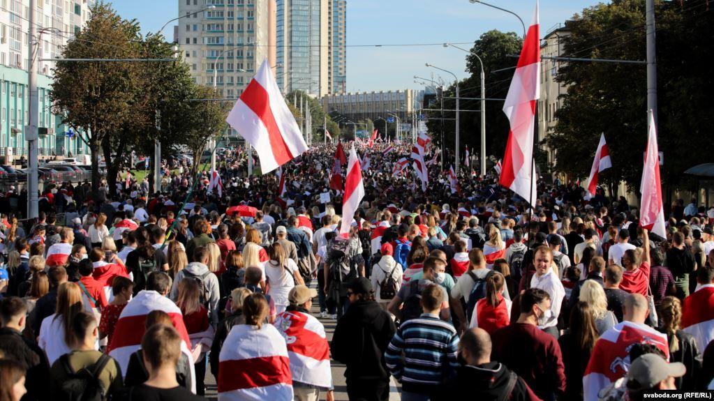 Photo of В Беларуси свыше 120 человек задержали на «Маршах справедливости»