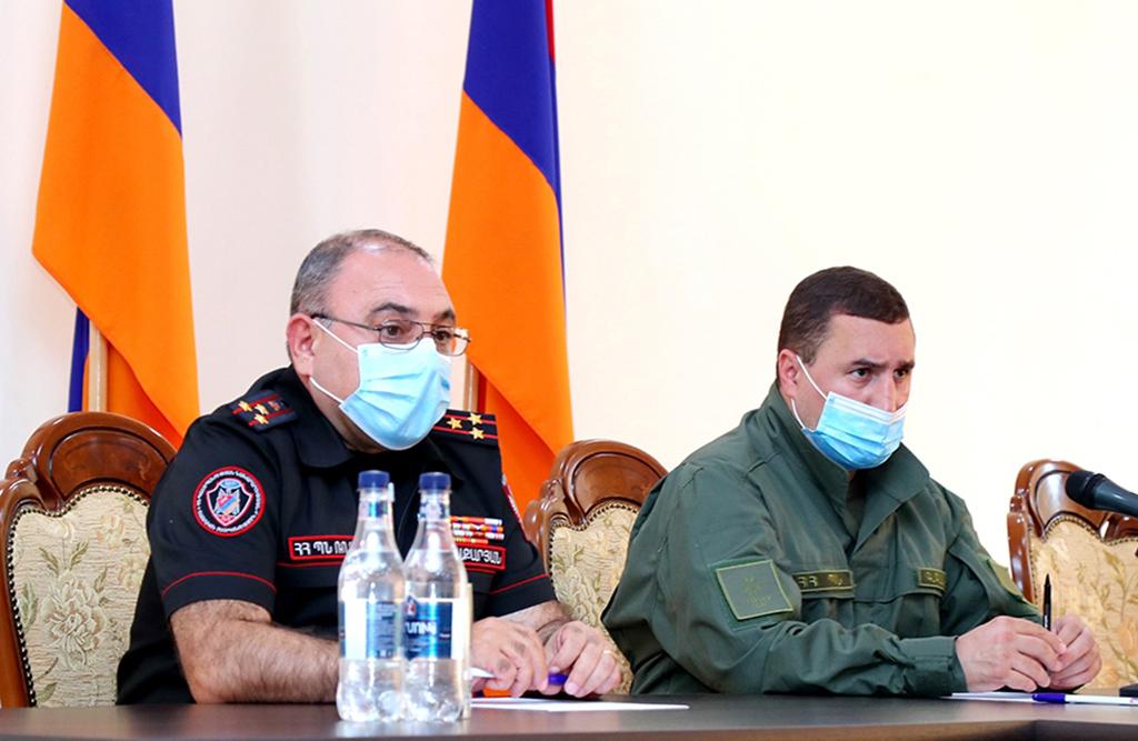 Photo of Ռազմական ոստիկանությունում ամփոփվել են կատարված աշխատանքների արդյունքները