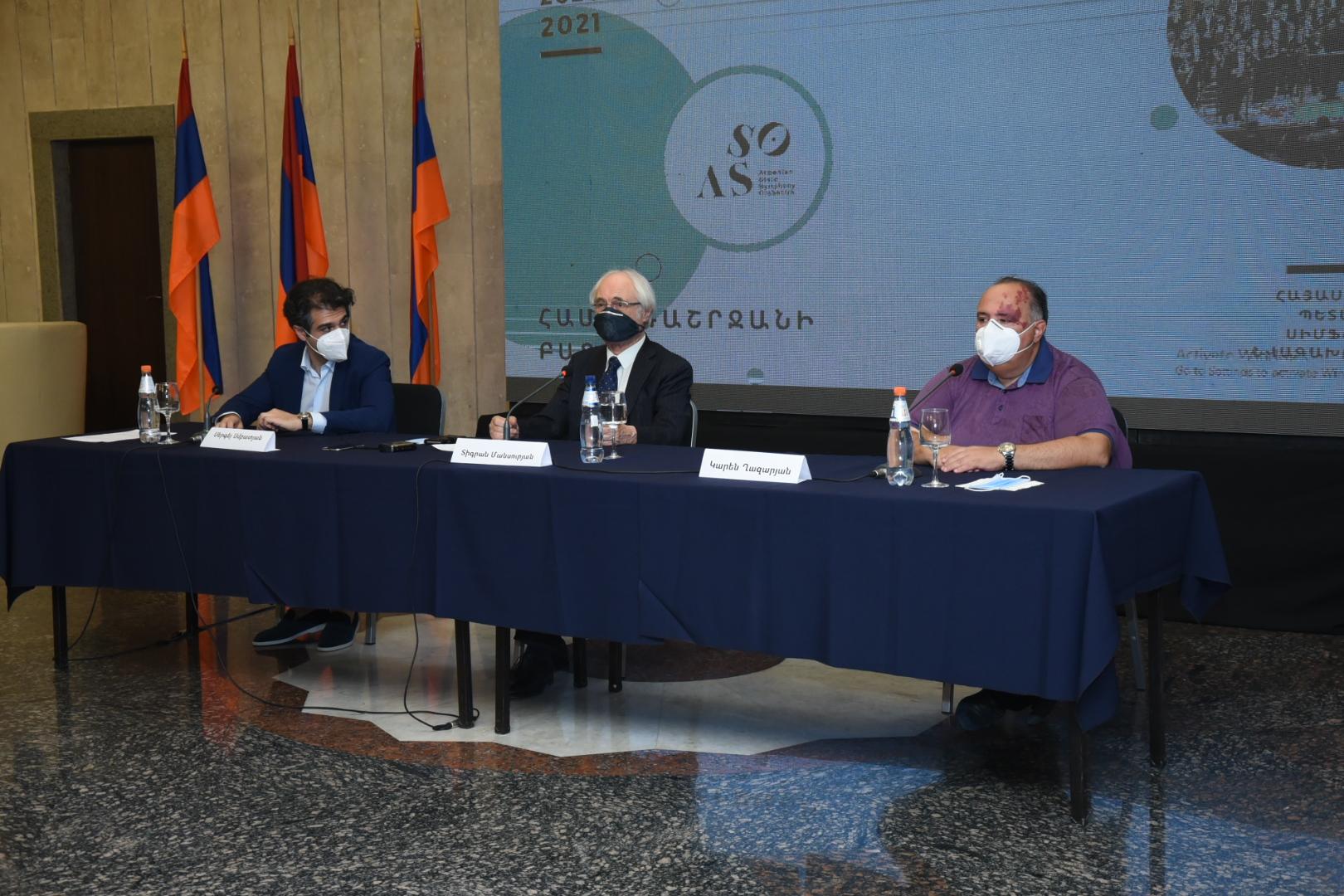 Photo of Մեկնարկում է Հայաստանի պետական սիմֆոնիկ նվագախմբի 15-րդ՝ հոբելյանական համերգաշրջանը