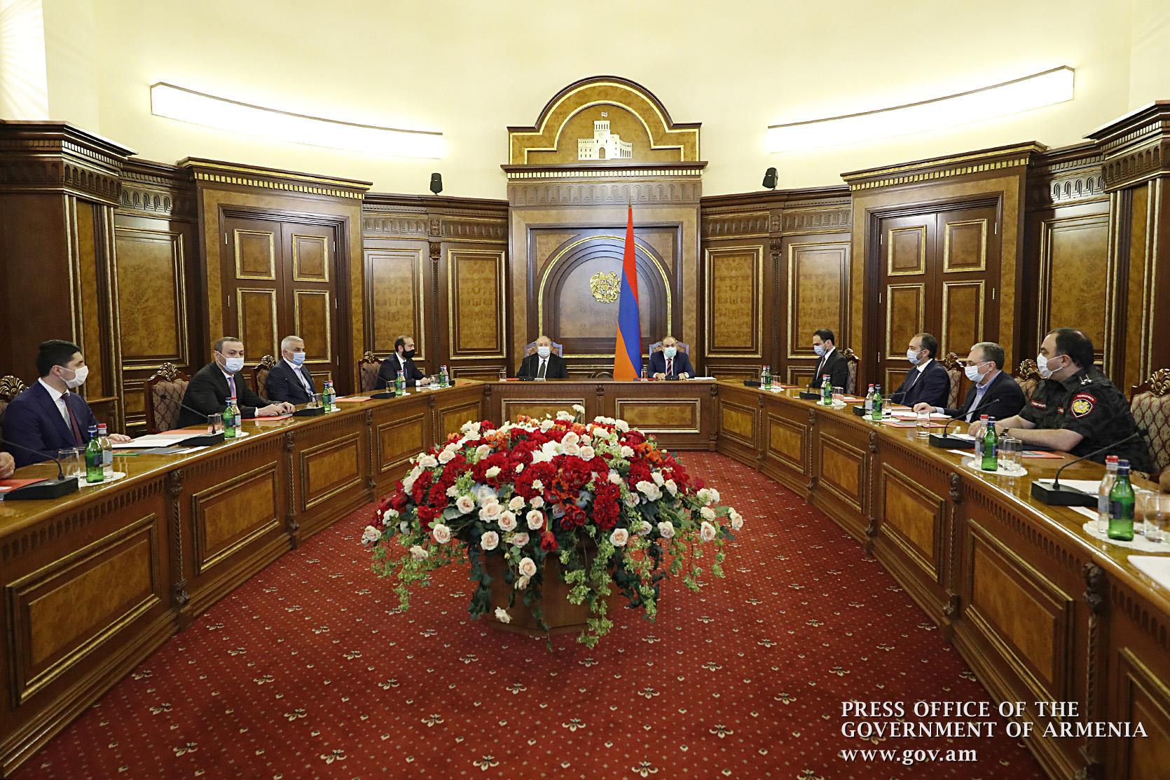 Photo of Совбез Армении обсудил достойный отпор агрессии Азербайджана