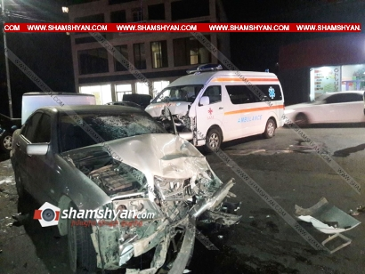 Photo of Խոշոր ավտովթար Կոտայքի մարզում. Հրազդանում բախվել են Mercedes-ն ու Հրազդանի հիվանդանոցի շտապօգնության ավտոմեքենան. կան վիրավորներ