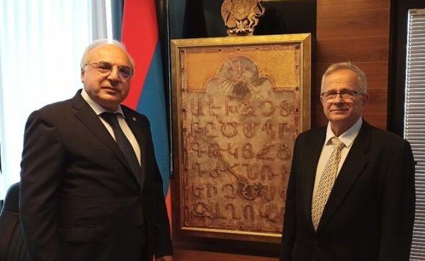 Photo of Армения официально открыла посольство в Израиле