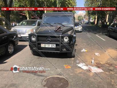 Photo of Երևանոմ 35-ամյա վարորդը Mercedes G 500-ով վրաերթի է ենթարկել փողոցը չթույլատրելի հատվածով անցնող հետիոտնին. բժիշկները պայքարում են վիրավորի կյանքի համար