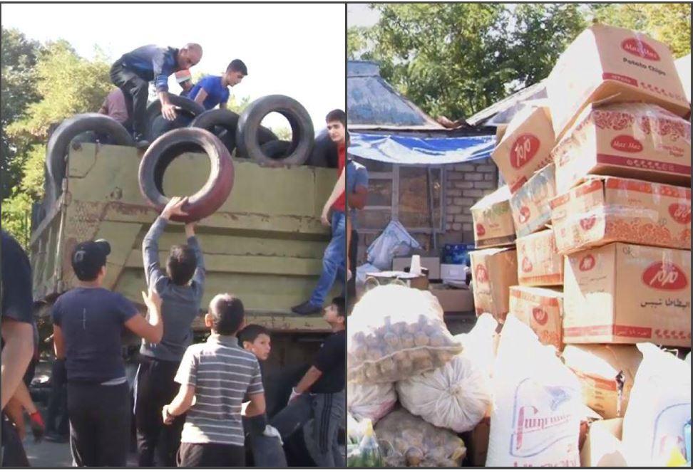 Photo of Մեծից փոքր. գյումրեցիներն անվադողեր եւ անհրաժեշտ իրեր են տեղափոխում առաջնագիծ