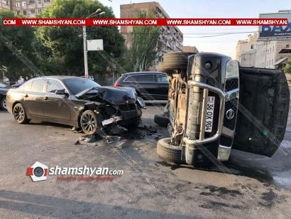 Photo of Բացառիկ տեսանյութ Երևանում՝ Վստրեչի խաչմերուկում, տեղի ունեցած ավտովթարից