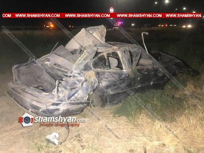 Photo of Խոշոր ավտովթար Արարատի մարզում. BMW-ն բախվել է հողաթմբին և մի քանի պտույտ շրջվելով, հայտնվել դաշտում. կան վիրավորներ