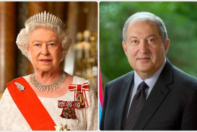 Photo of Անկախության օրվա առթիվ ՀՀ նախագահին շնորհավորական ուղերձ է հղել Թագուհի Եղիսաբեթ Երկրորդը