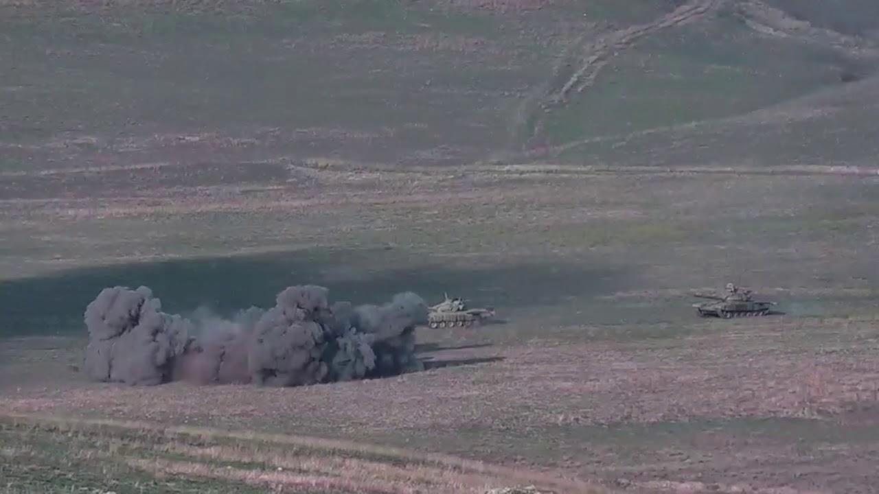 Photo of Уничтожение азербайджанских танков и живой силы