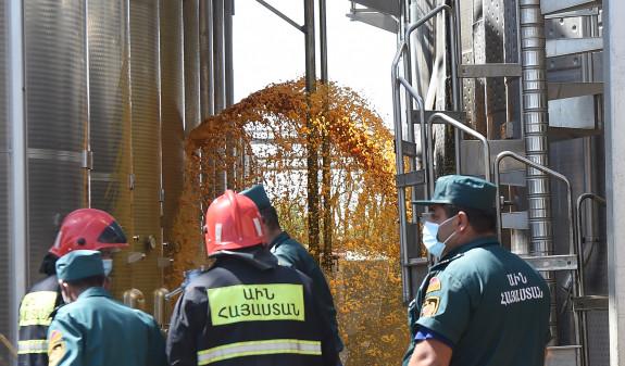 Photo of Скончался один из пострадавших в пожаре на коньячном заводе в Армении