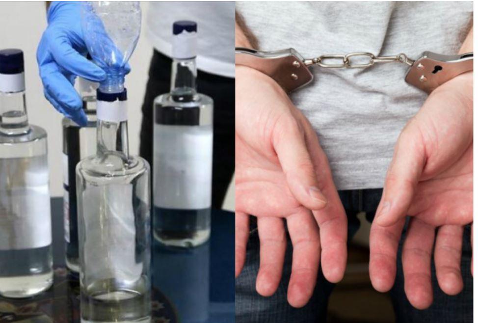 Photo of Выявлен и задержан производитель водки, отнявшей жизнь 11 человек, партия нереализованного алкоголя изъята