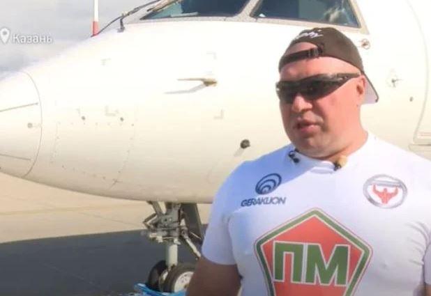 Photo of Лидер федерации силового экстрима России Сергей Агаджанян установил новый мировой рекорд