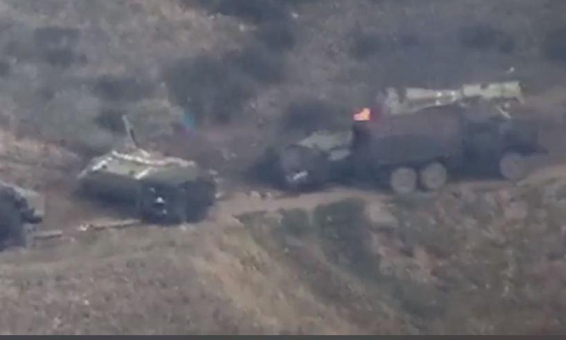 Photo of Очередные потери азербайджанской военной техники