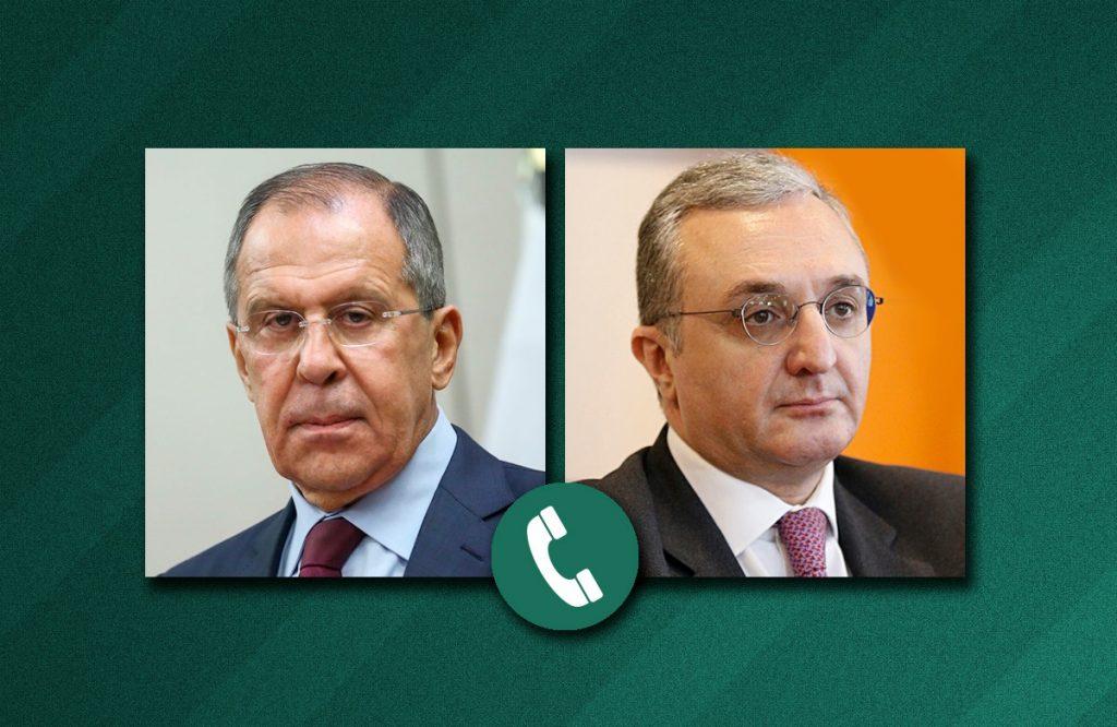 Photo of Զոհրաբ Մնացականյանն ու Սերգեյ Լավրովը հեռախոսազրույց են ունեցել