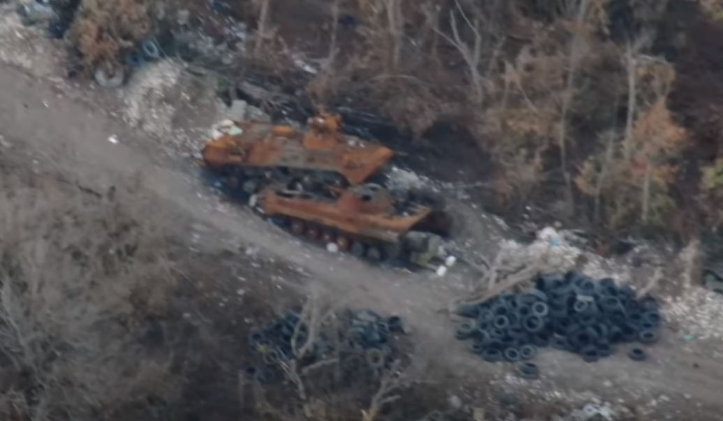 Photo of Подбитые танки и бронетехника азербайджанской стороны в северо и северо-восточном направлении