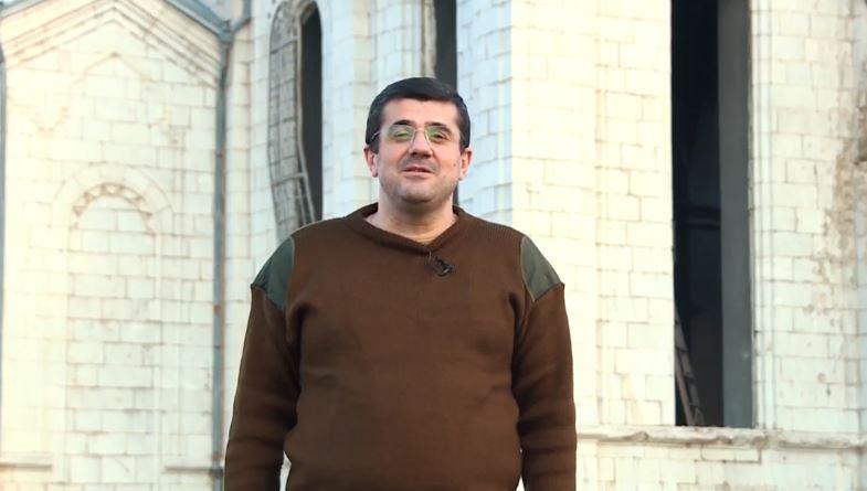 Photo of Президент Арцаха Араик Арутюнян выступил с обращением к народу из города Шуши