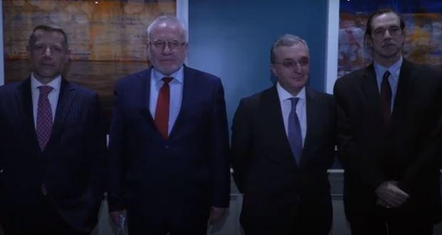Photo of ԱԳ նախարար Զոհրաբ Մնացականյանը հանդիպել է ԵԱՀԿ Մինսկի Խմբի համանախագահների հետ