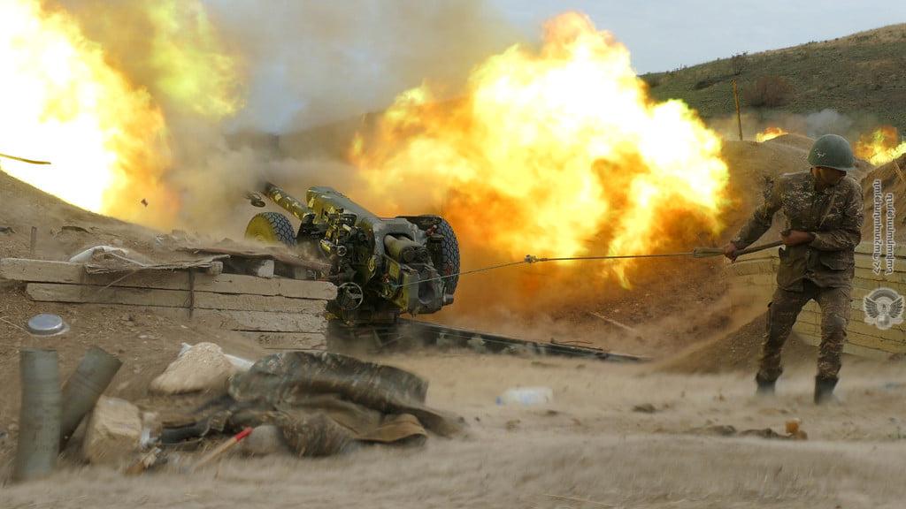Photo of Առավոտյան հարավային, հյուսիսային, հյուսիս-արևելյան և արևելյան ուղություններով հակառակորդը վերսկսվել է հրթիռահրետանային ակտիվ կրակով ուղեկցվող գործողություններ