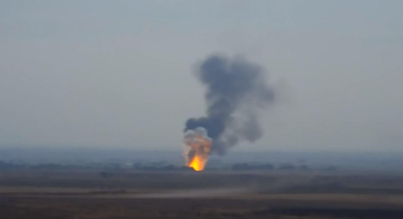 Photo of Ադրբեջանական ուղղաթիռի խոցումը
