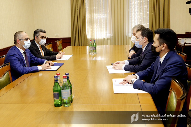 Photo of ՊԵԿ նախագահ Էդվարդ Հովհաննիսյանն ընդունել է ԵՏՀ տնտեսական և ֆինանսական հարցերով կոլեգիայի անդամ Տիմուր Ժակսիլիկովին