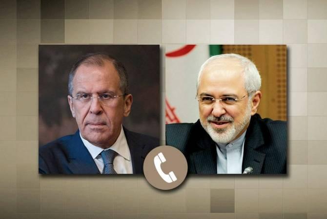 Photo of Իրանի եւ ՌԴ ԱԳ նախարարները քննարկել են իրավիճակը շփման գծում