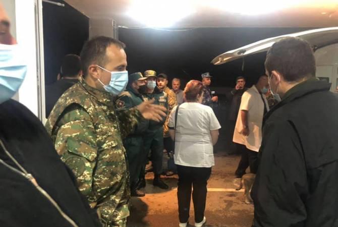 Photo of Ֆրանսիայից կամավոր բուժաշխատողներ են ժամանել. սահմանամերձ ԲԿ-ում օգնություն ցույց կտան վիրավորներին