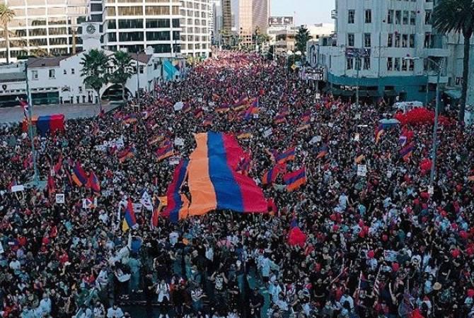 Photo of Հաղթելու ենք. Լոս Անջելեսի հուժկու երթն ու ցույցն աշխարհի ուշադրությունը հրավիրել են թուրք-ադրբեջանական ագրեսիայի վրա