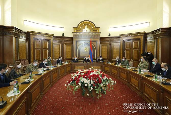 Photo of Пашинян встретился с внепарламентскими силами