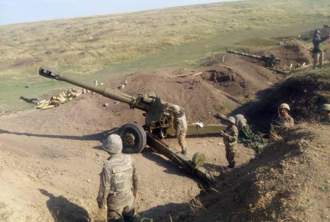 Photo of Бои на передовой продолжаются: ВС Азербайджана в основном применяют артиллерию