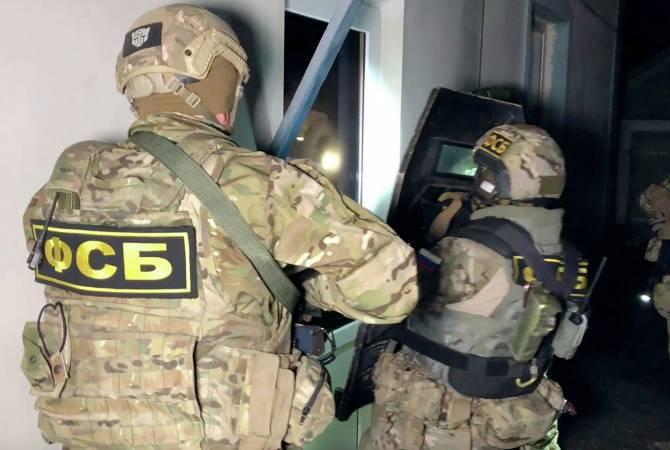 Photo of ՌԴ ԱԴԾ-ն հրապարակել է կադրեր զինյալի ձերբակալման, ով Մոսկվայում պատրաստվում էր ահաբեկչություն իրականացնել