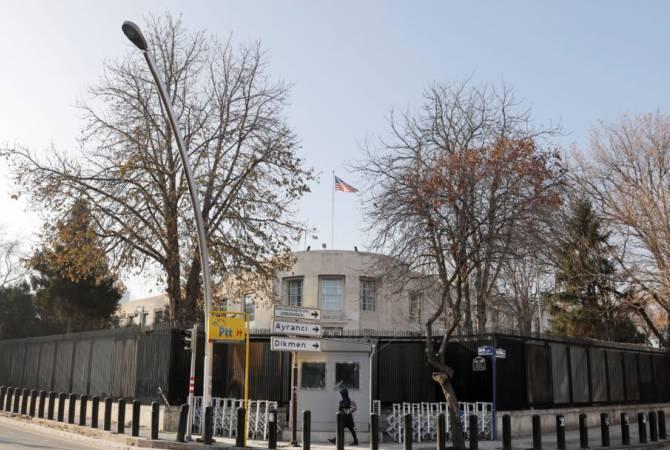 Photo of Թուրքիայում ԱՄՆ դեսպանատունն իր քաղաքացիներին զգուշացրել է առևանգման և ահաբեկչության վտանգի մասին