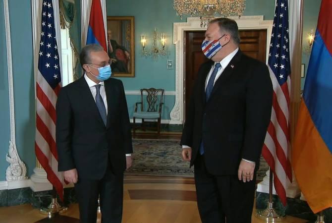 Photo of Վաշինգտոնում կայացել է Զոհրաբ Մնացականի հանդիպումը Մայք Պոմպեոյի հետ