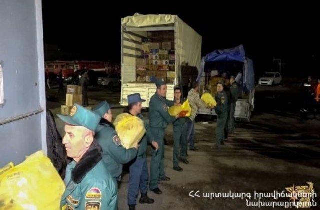 Photo of Արտերկրից եկած յուրաքանչյուր բեռ առաջին հերթին ուղարկվում է առաջնագիծ և ապաստարաններ